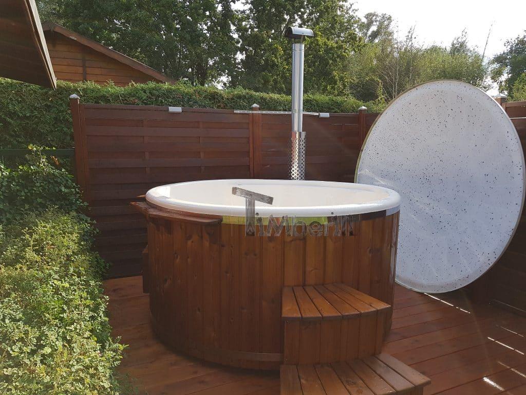 Badefass-gfk-Thermoholz-mit-integriertem-Ofen-Wellness-Royal-Klaus-Oranienburg-Deutschland-1 Bewertungen - Erfahrung TimberIN