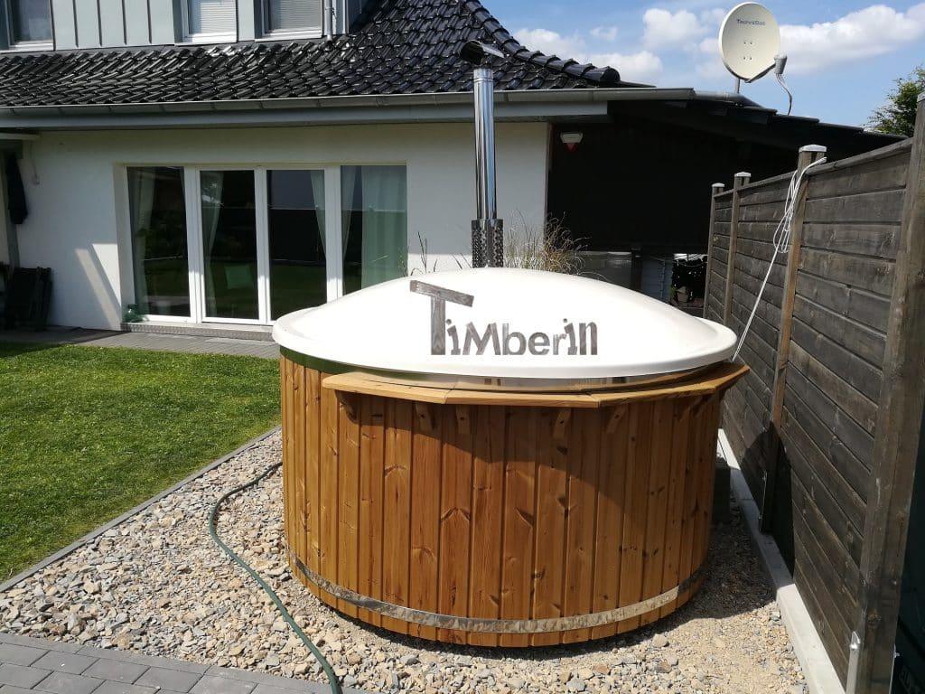 Badefass-gfk-Thermoholz-mit-integriertem-Ofen-Wellness-Royal-Markus-Leichlingen-Deutschland-1 Bewertungen - Erfahrung TimberIN