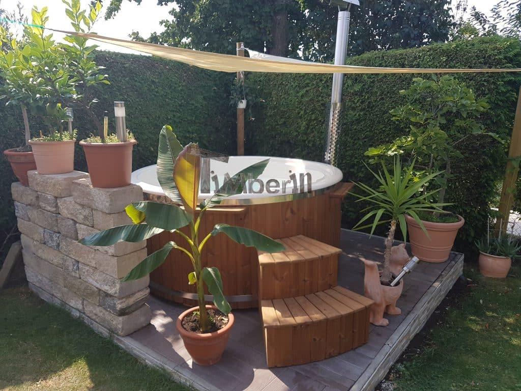 Badefass-gfk-Thermoholz-mit-integriertem-Ofen-Wellness-Royal-Robert-Kösching-Deutschland-2 Bewertungen - Erfahrung TimberIN