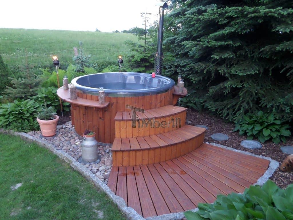 Badefass-gfk-Thermoholz-mit-integriertem-Ofen-Wellness-Royal-Steffen-Gutow-OT-Schönwolde-Deutschland-2 Bewertungen - Erfahrung TimberIN