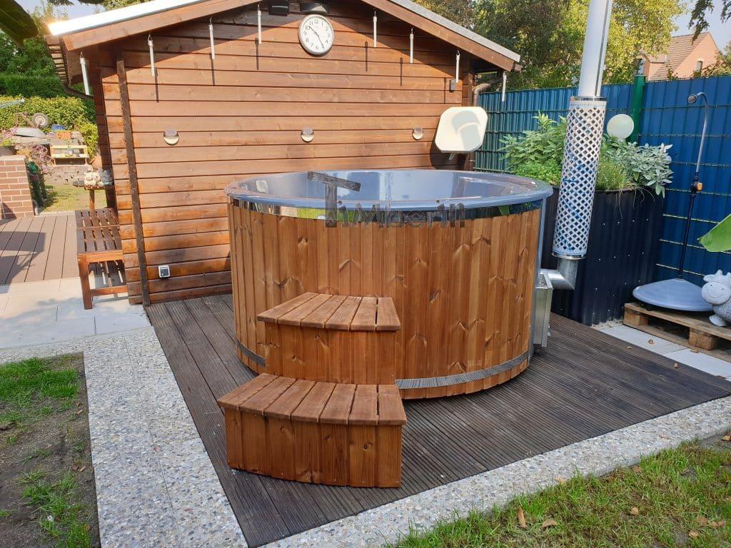Badefass-gfk-Thermoholz-mit-integriertem-Ofen-Wellness-Royal-Werner-Essen-Deutschland-1 Bewertungen - Erfahrung TimberIN