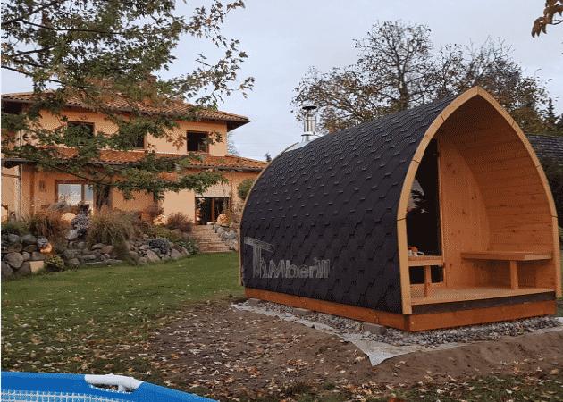 Außensauna-für-Garten-Iglu-Design-Matthias-Kastanienstraße-Deutschland-5 Bewertungen - Erfahrung TimberIN
