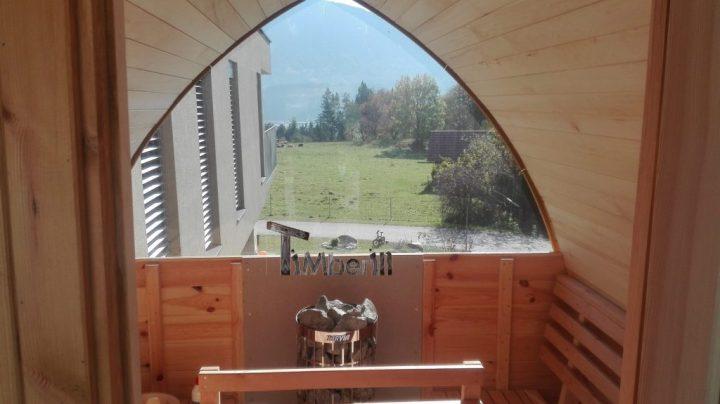 Außensauna Für Garten Iglu Design, Marko, Ludmannsdorf, Österreich (4)