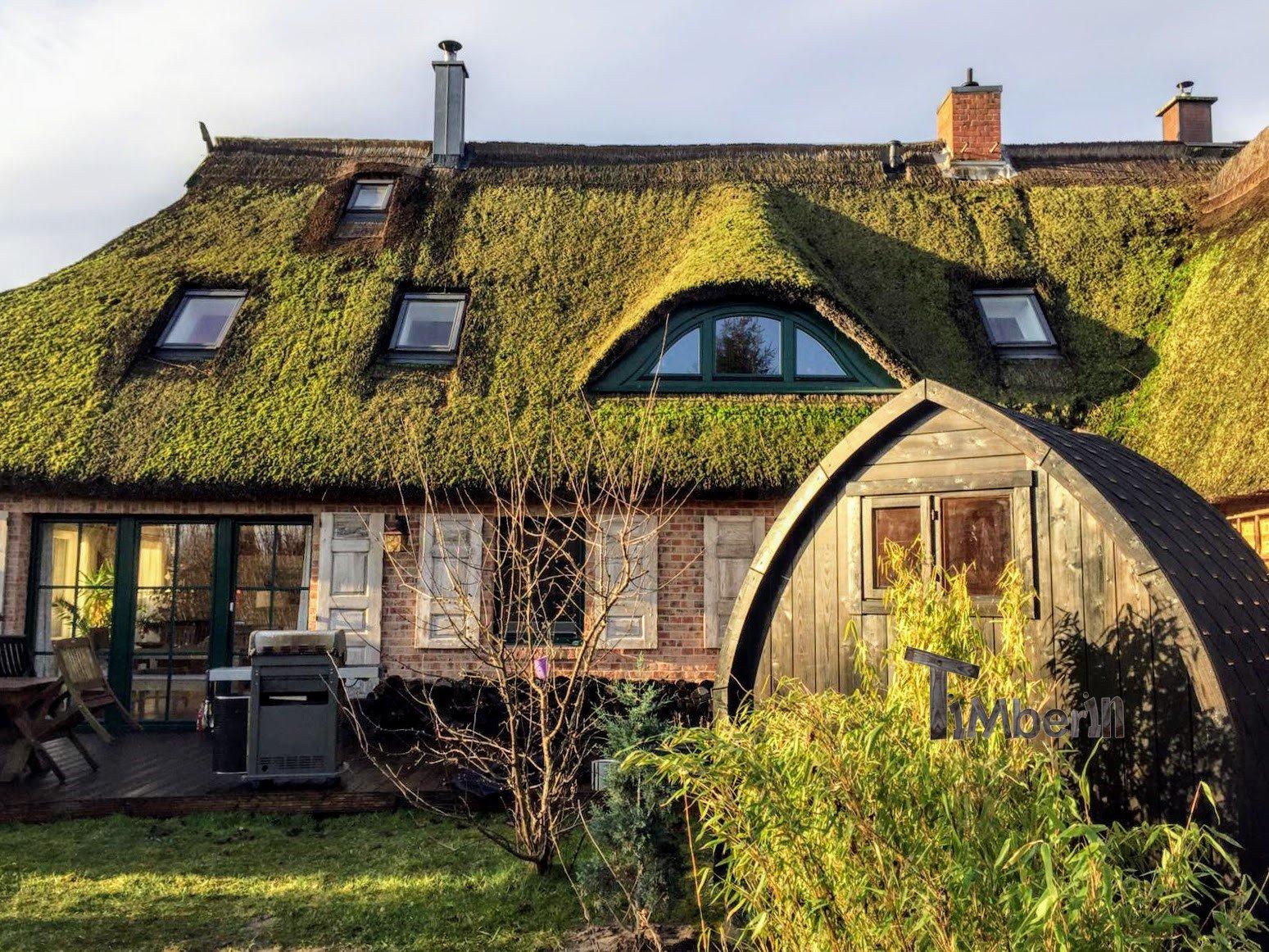 Außensauna-für-Garten-Iglu-Design-Sven-Ribnitz-Damgarten-Deutschland-3 Bewertungen - Erfahrung TimberIN