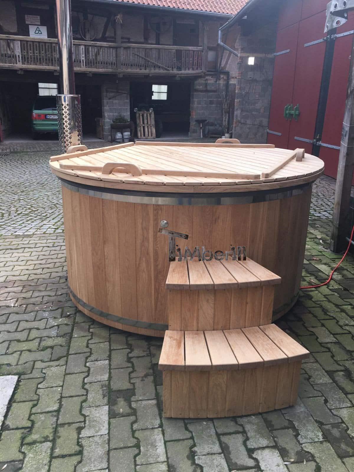 Badefass-gfk-Thermoholz-mit-integriertem-Ofen-Wellness-Royal-Nicole-Nordhausen-Deutschland Bewertungen - Erfahrung TimberIN