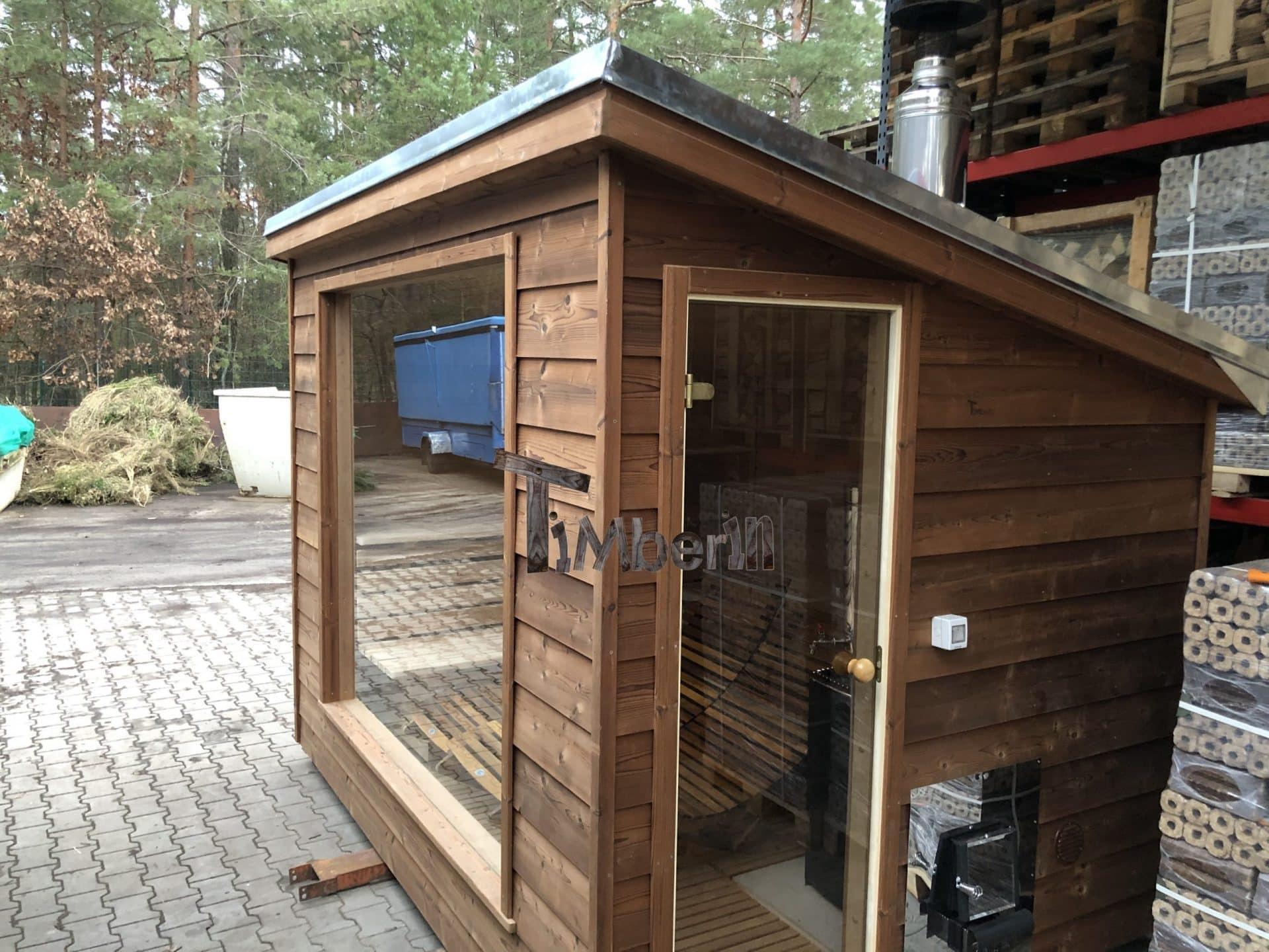 Moderne-Außensauna-für-den-Garten-Sven-Fichtenwalde-Deutschland-scaled Bewertungen - Erfahrung TimberIN