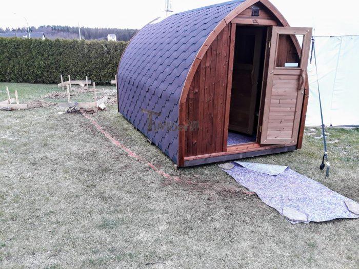 Außensauna Für Garten Iglu Design, Norbert, Wald, Deutschland (2)