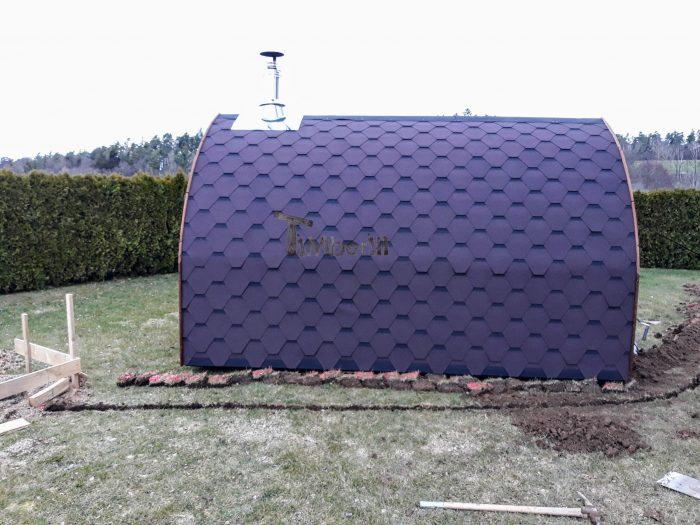 Außensauna Für Garten Iglu Design, Norbert, Wald, Deutschland (4)