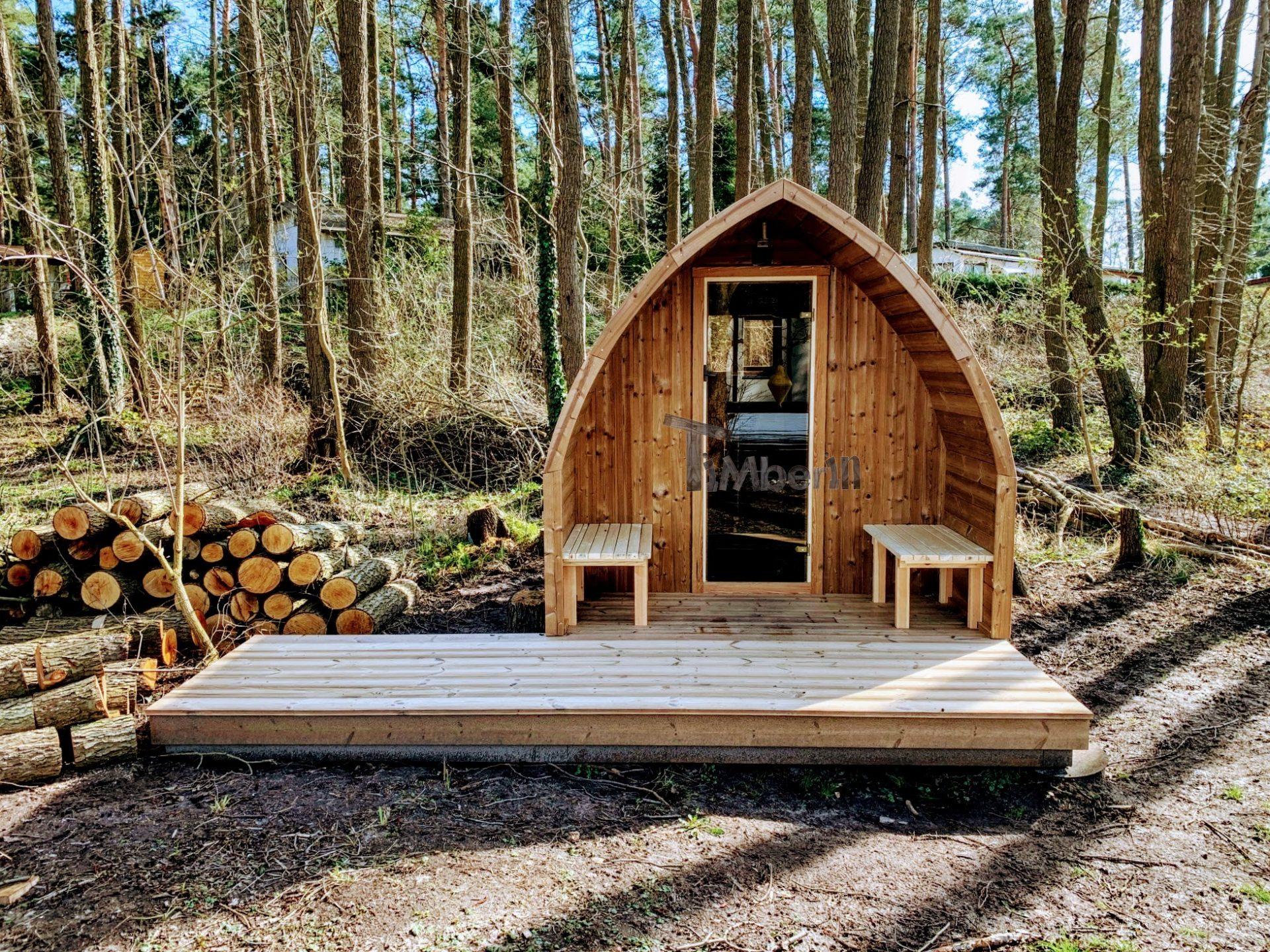 Außensauna-für-Garten-Iglu-Design-Ray-Berlin-Deutschland-1-1 Bewertungen - Erfahrung TimberIN
