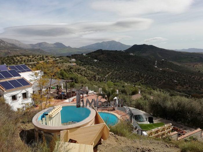 Badetonne Mit Kunststoffeinsatz Sonderangebot, Lukas, Riogordo, Spanien (2)