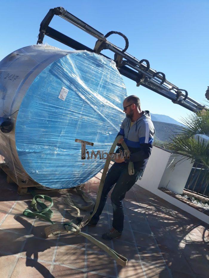 Badetonne Mit Kunststoffeinsatz Sonderangebot, Lukas, Riogordo, Spanien (3)