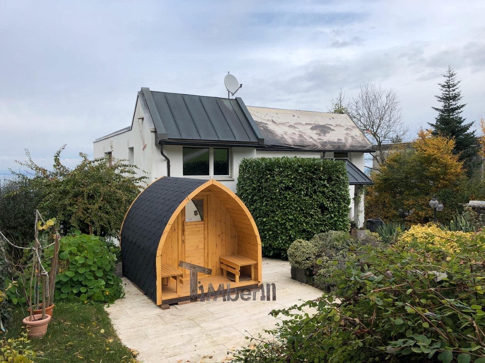 Außensauna-für-Garten-Iglu-Design-Heinz-Rorschacherberg-Schweiz-3 Bewertungen - Erfahrung TimberIN