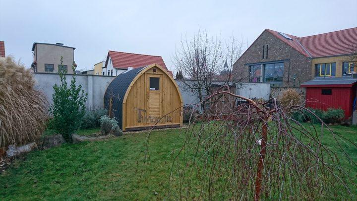 Außensauna Für Garten Iglu Design, Stefan Und Anabell, Barleben, Deutschland (1)