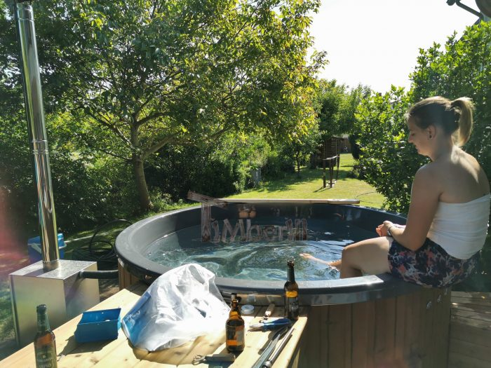 Badezuber GFK Mit Aussenofen, Andreas, Illingen, Deutschland (2)