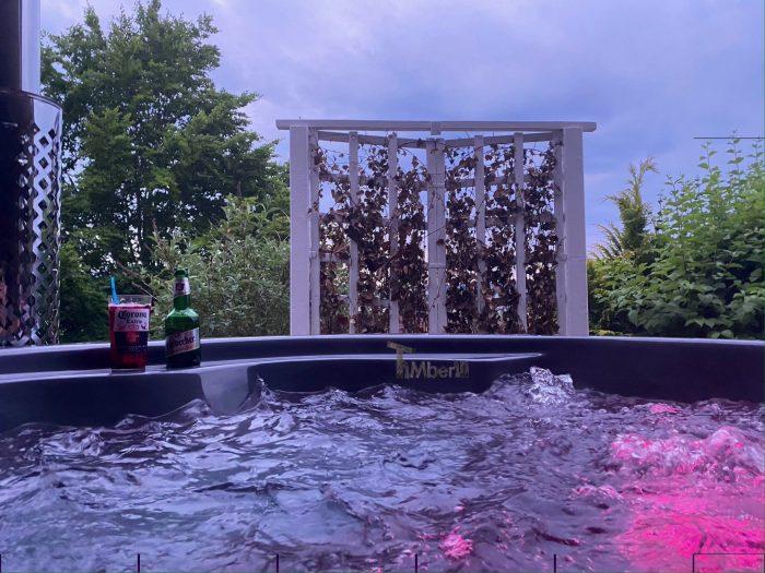 Badefass Gfk Mit Whirlpool Wellness Royal, Sina, Dassel, Deutschland (2)