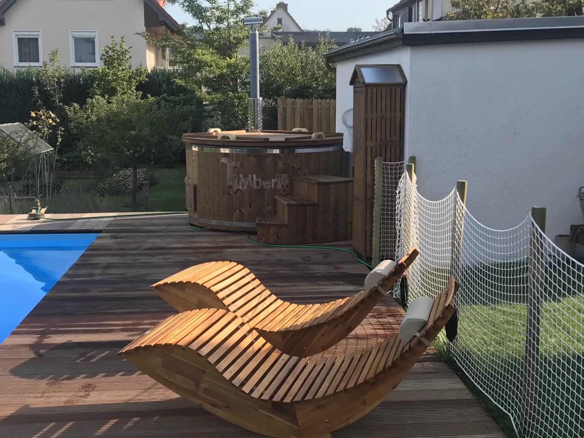 Badefass gfk mit Whirlpool Wellness Royal Uwe Schluechtern Deutschland 2 scaled