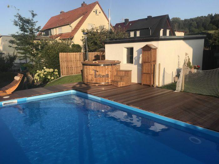 Badefass Gfk Mit Whirlpool Wellness Royal, Uwe, Schlüchtern, Deutschland (3)