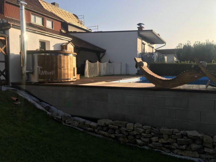 Badefass Gfk Mit Whirlpool Wellness Royal, Uwe, Schlüchtern, Deutschland (4)