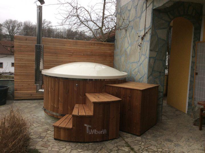 Badefass Gfk Mit Whirlpool Wellness Royal, Monika, Raab, Österreich (1)