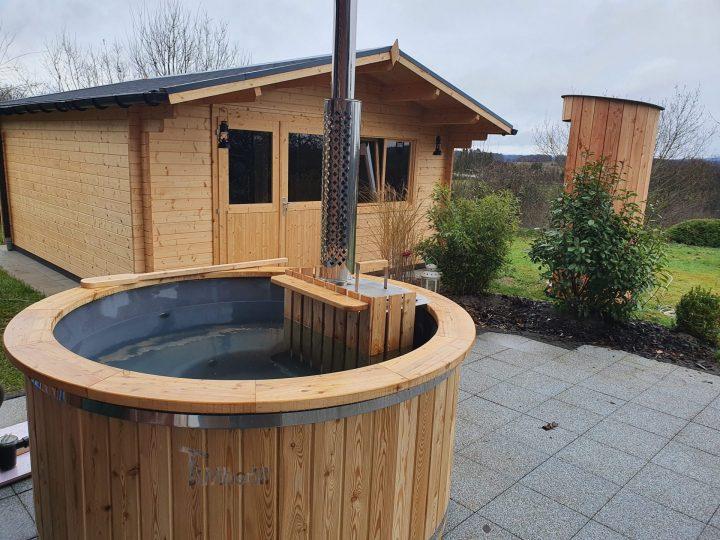 Holz Whirlpool Für Draußen Holzheizung, Jan, Wallerhausen, Deutschland (1)