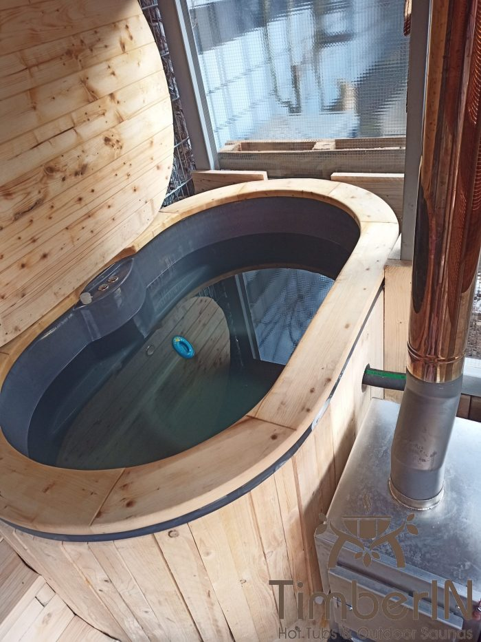 Badezuber Badefass Jacuzzi Hot Tube Einbaumodell Einsatz Eingraben Eingelassen, Michael, Vellmar, Deutschland (3)