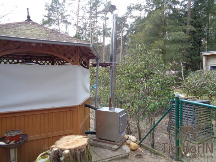 Badetonne Oval Mit Fiberglaseinsatz Für 2 Personen, Guenter, Beelitz, Deutschland (2)