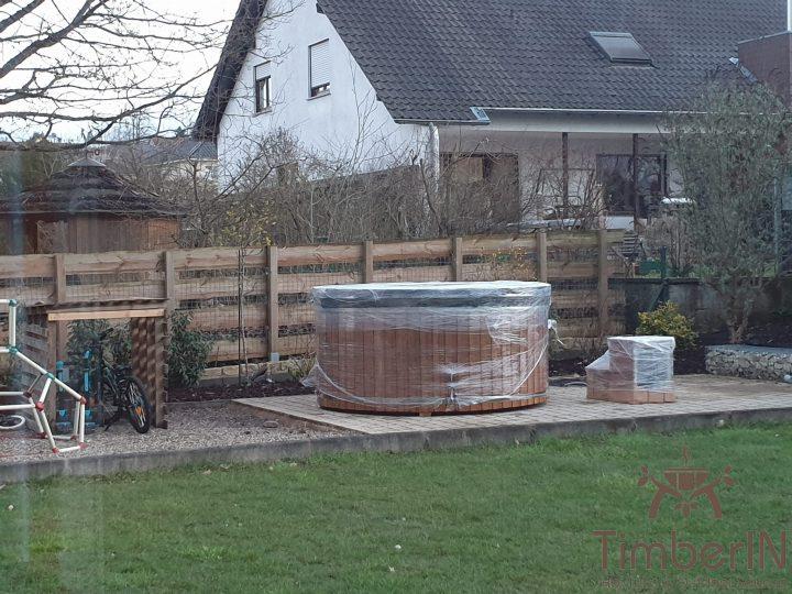 Badezuber Badefass Hot Tube Mit Whirlpool Holzofen TimberIN Rojal, Melanie, Rehlingen Siersburg, Deutschland