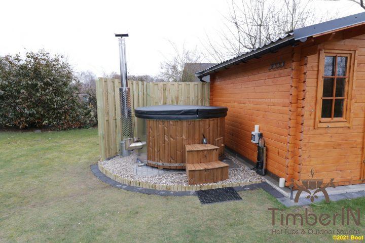 Badezuber Badefass Hot Tube Mit Whirlpool Holzofen TimberIN Rojal, Thorsten, Suderburg, Deutschland (1)
