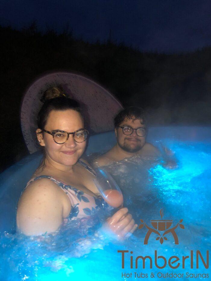 Badefass Badezuber Mit Whirlpool Wellness Royal, Bettina, Lindberg, Deutschland (1)