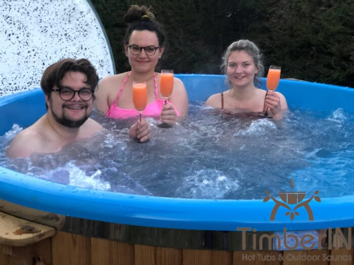 Badefass Badezuber Mit Whirlpool Wellness Royal, Bettina, Lindberg, Deutschland (3)
