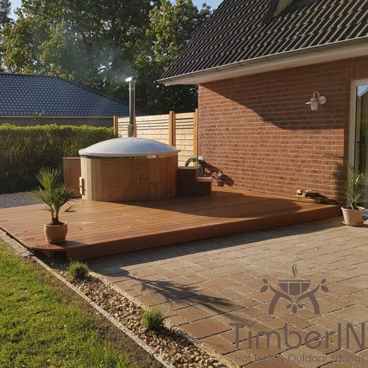 Badefass Gfk Mit Whirlpool Wellness Royal, Andrea, Winsen, Deutschland (5)