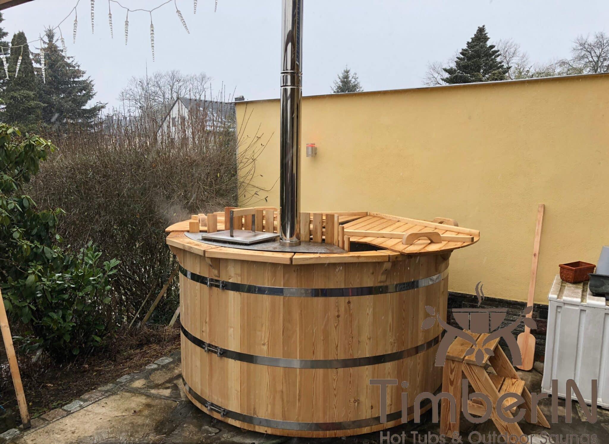 Badezuber Badefass Fichte Bausatz 1 scaled