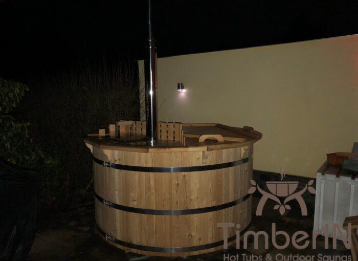 Badezuber Badefass Fichte Bausatz (2)