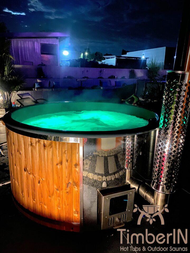 Badezuber Badefass Hot Tube Mit Whirlpool Holzofen TimberIN Rojal, Steffen, Mosbach, Deutschland (1)