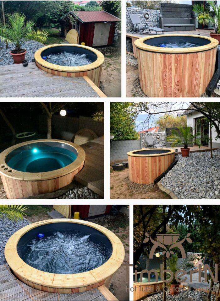 Badezuber Badefass Hot Tube Einbaumodell Einsatz Eingraben Eingelassen