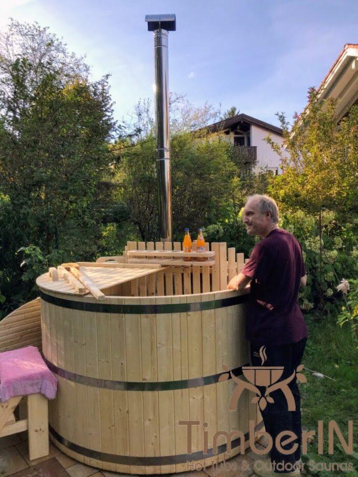 Holz Badebottich Bausatz Günstiges Modell, (4)