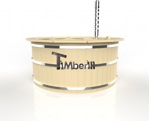 Badebottich_aus_Holz_Deluxe_3D_(6) Holzbadezuber Deluxe: Sibirische Fichte, Lärche