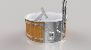 Badetonne_GFK_Wellness_3D_Render_(1) Badefass gfk Thermoholz mit integriertem Ofen Wellness Royal