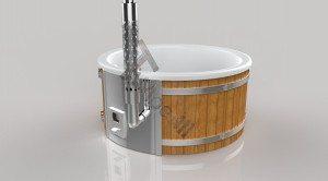 Badetonne_GFK_Wellness_3D_Render_(17) Badefass gfk Thermoholz mit integriertem Ofen Wellness Royal