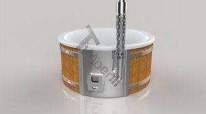 Badetonne_GFK_Wellness_3D_Render_(19) Badefass gfk Thermoholz mit integriertem Ofen Wellness Royal