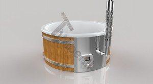 Badetonne_GFK_Wellness_3D_Render_(2) Badefass gfk Thermoholz mit integriertem Ofen Wellness Royal