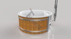 Badetonne_GFK_Wellness_3D_Render_(6) Badefass gfk Thermoholz mit integriertem Ofen Wellness Royal