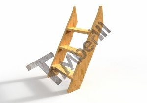Basic_Holztreppe__(2) Badefass mit Kunststoffeinsatz Red Cedar Holz