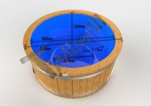 Fiberglass_deluxe_3D_1 Elektro-Whirlpool im Freien Wellness konisch