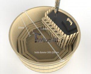 Holzbadezuber_Basic_3d_(2) Holzbadetonne günstig Basic Modell