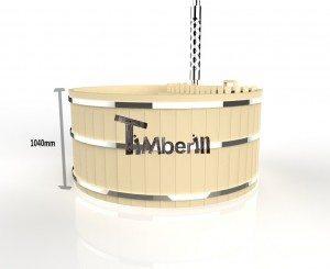 Holzbadezuber_Basic_3d_(4) Holzbadetonne günstig Basic Modell