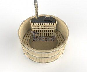 Holzbadezuber_Basic_3d_(9) Holzbadetonne günstig Basic Modell