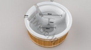 Wellness_Royal_3D_(2) Badefass gfk Thermoholz mit integriertem Ofen Wellness Royal